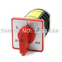 Hz5-m08 380VAC 20A 4KW 12 клеммы 0-1-2 3 положения переключения переключатель Cam