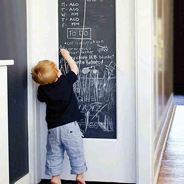 DIY Vinyl Chalkboard Removable Blackboard Wall Sticker Decal 18 x 79″