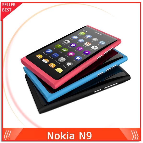 "Original Nokia N9 Unlocked 3.9"" Screen N9-00 Mobile Phone 16GB Storage 8MP Camera Wifi GPS 3G Free Shipping(China (Mainland))"
