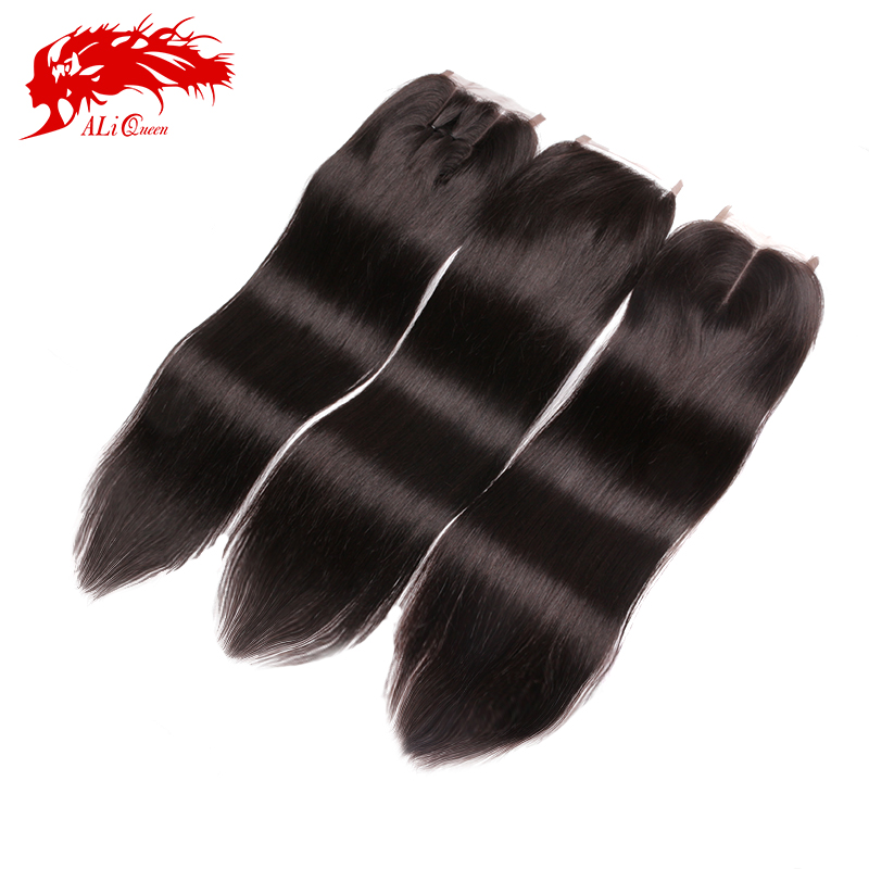 Free / Middle / Three part Brazilian Straight Lace Closure 4x4, 8-20inch brazilian lace closure straight