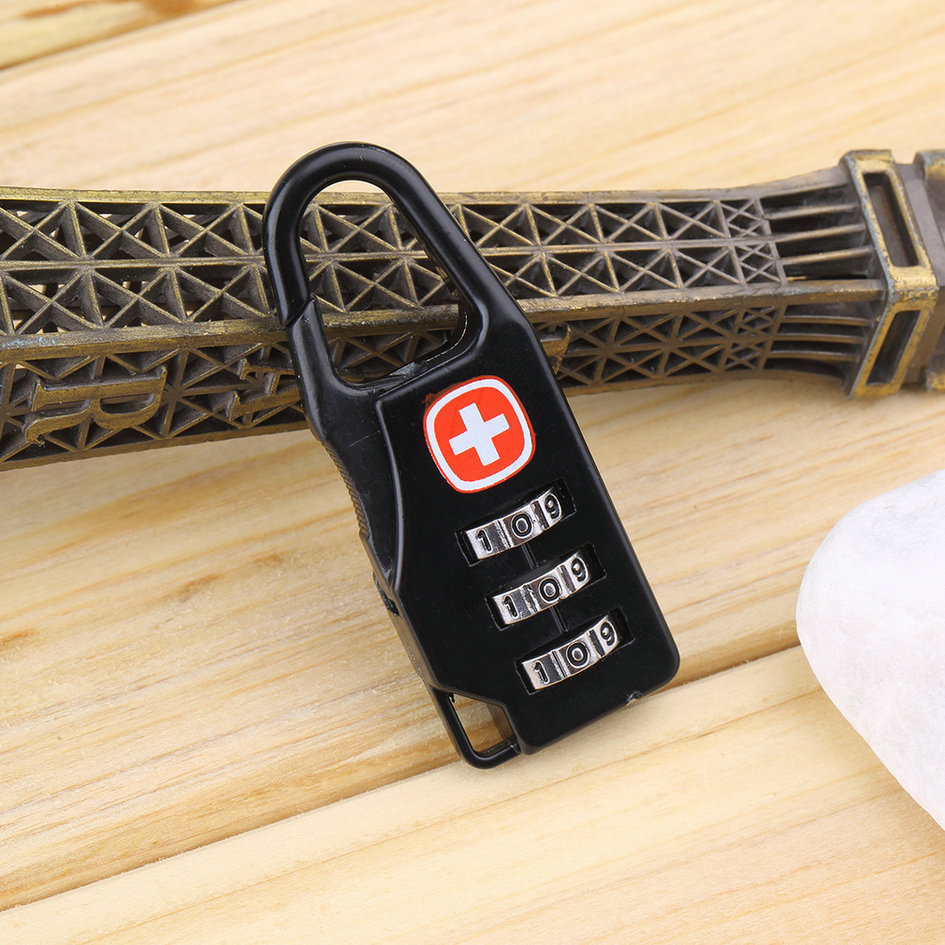 Гаджет  Alloy Cross Combination Lock Code Number for Luggage Bag Drawer Cabinet new arrival None Аппаратные средства