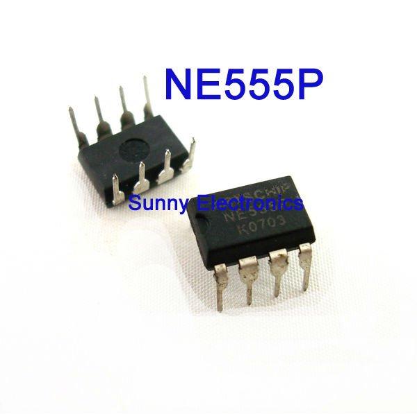 Гаджет  NE555P Timer Integrated Circuit DIP-8 555 timer IC Chip 25pcs None Электронные компоненты и материалы