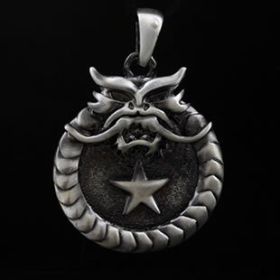 Punk Goth Men Jewelry Necklace Pendant Free Shipping On $15 Order(China (Mainland))