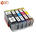 5pcs set for Canon PGI 470xl CLI 471xl compatible ink cartridge for Canon PIXMA MG5740 MG6840
