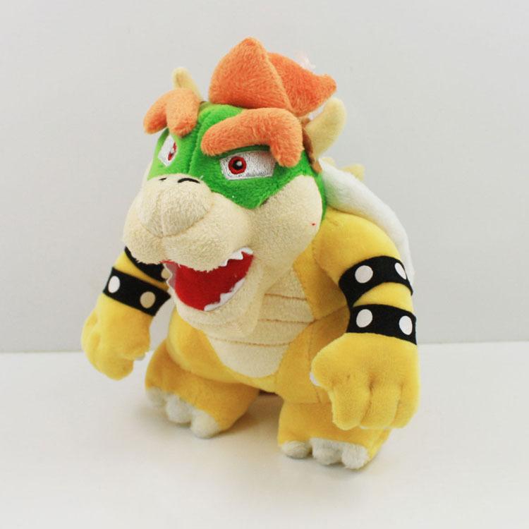 10PCS  20cm Plush Toys Super Mario Nicole Malliotakis Plush Doll Kubah Dragon  stand Plush Toys<br><br>Aliexpress