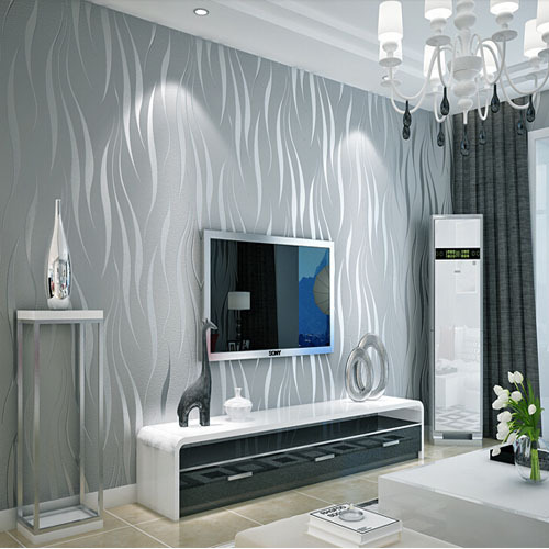 tapetenmuster wohnzimmer gr n. Black Bedroom Furniture Sets. Home Design Ideas