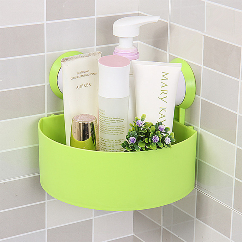 plastic bathroom storage shelf kitchen storage holder kitchenware toiletry bathroom organizer
