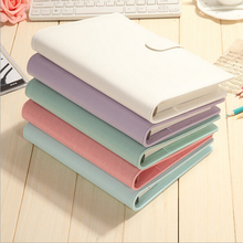 A5 Macarons Colored Notebooks Spiral Binder Original Universal Handbooks Planner Notebook Korean Cute Stationery - After School store