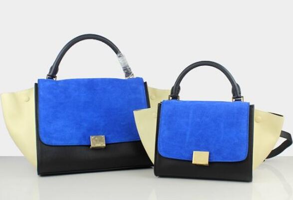 Gossip girl model trapaze bag, real leather women handbag, lady suede shoulder bag, fashion brand designer bags, free shipping