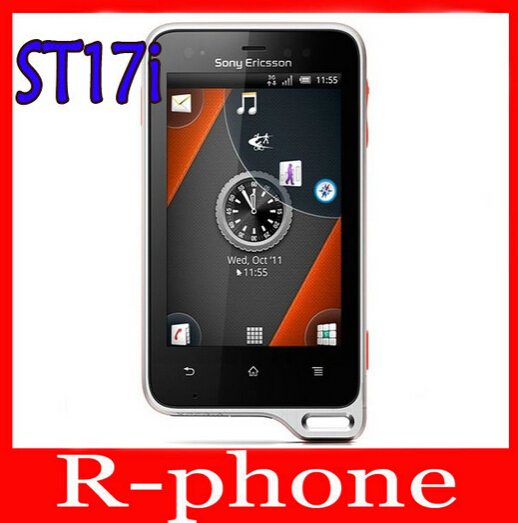 ST17 Original Sony Ericsson Xperia active ST17i Mobile Phone GPS WiFi Android Cell Phone Refurbished(China (Mainland))