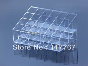 Hotsale Clear 24 Makeup Lipstick Cosmetic Storage Display Stand Holder 670148