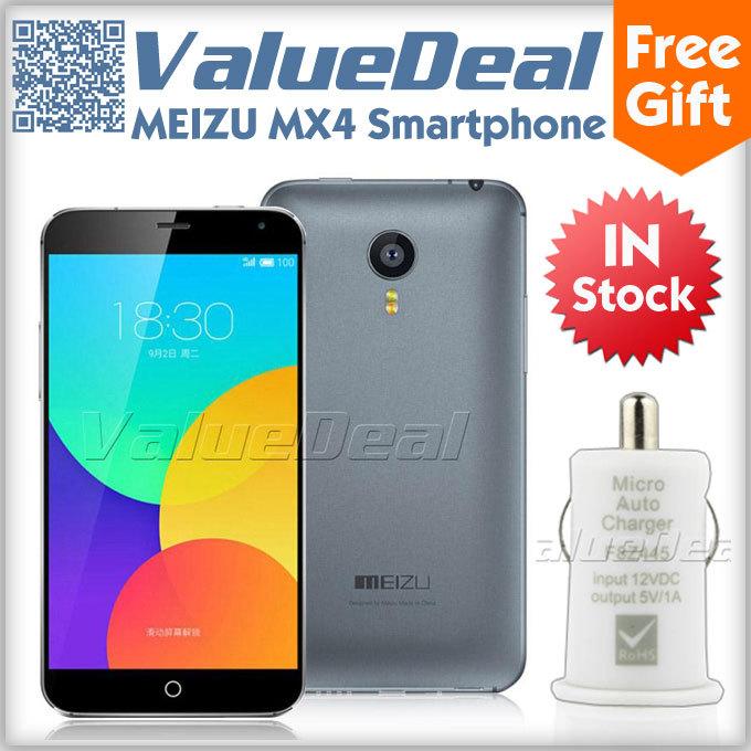 Original Meizu MX4 Pro i MTK6595 Octa Core 4G LTE Phone Android 4.4 5.36'' FHD Corning Gorilla Glass 20.7MP 2GB 32GB Smartphone(China (Mainland))