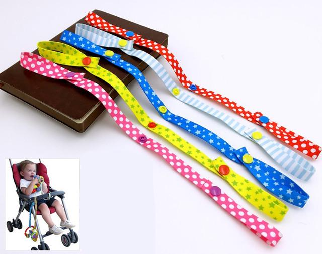 Детские игрушки фиксированной строка коляска ремень связывают пояса игрушки повязку ...