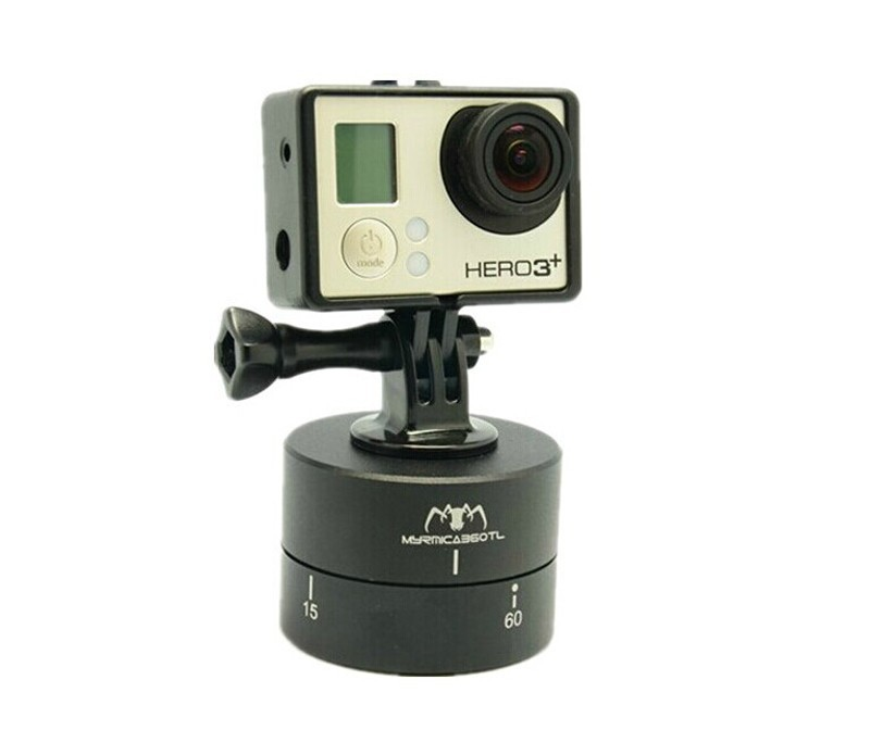 MYRMICA 360TL Time Lapse Pan and Tilt Head / 360 Degree Auto Rotation Camera Mount for GoPro(China (Mainland))