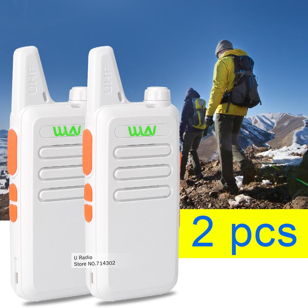 2pcs/lot White MINI-handheld Walkie Talkie KD-C1 UHF 400-470 MHz transceiver two way radio walkie talkie(China (Mainland))