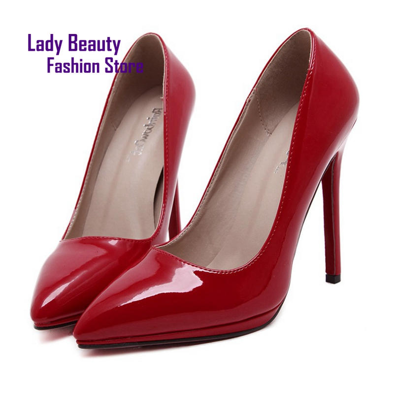 29 Casual Slip On Pointed Toe Women High Heel Sexy Prom Party Wedding Pumps Woman for Thin Heels Womens Shoes Brand<br><br>Aliexpress
