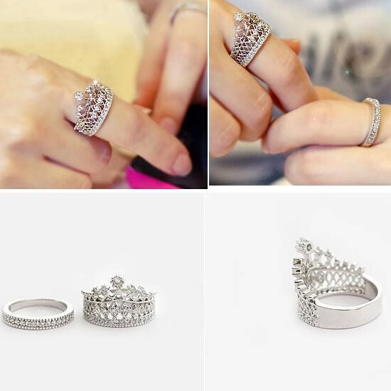 wedding sets diamond Picture More Detailed Picture about Double
