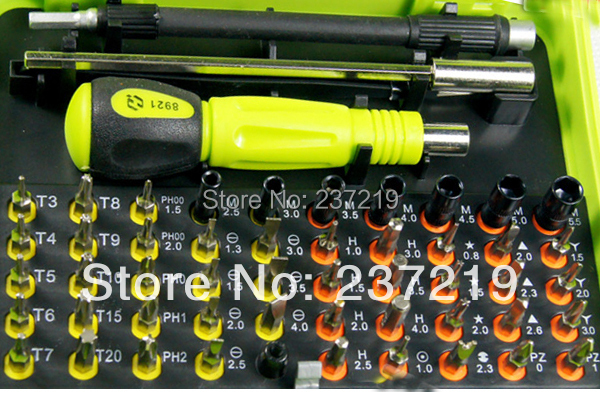 53 in1 Multi-purpose precision Magnetic Screwdriver Set PC Notebook phone phone Chaiji tools free shipping(China (Mainland))