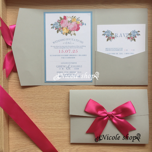 Online Get Cheap Shop Wedding Invitations Aliexpress – Luxury Wedding Invitations Online