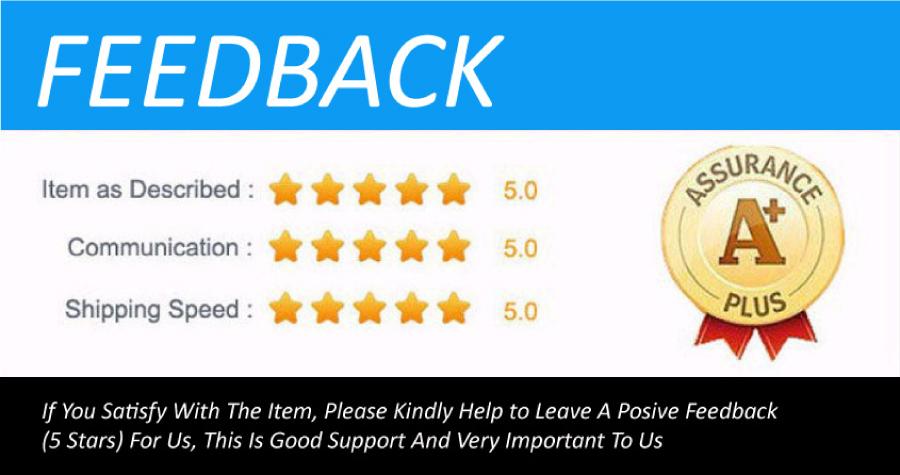 please give us posive feedback