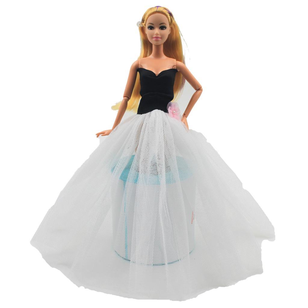 1 Set Trend Gown For Barbie Doll Child Birthday Toy Reward