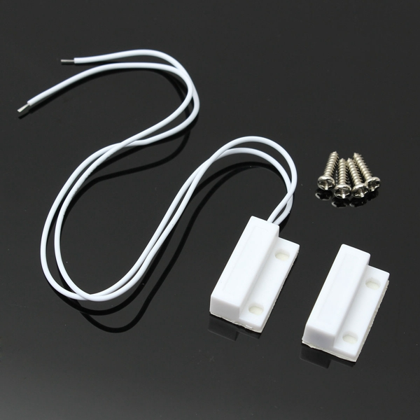 Excellent Quality 1 Set Door Window Contact Magnetic Reed Switch Alarm Device Sensor Normally Open Best