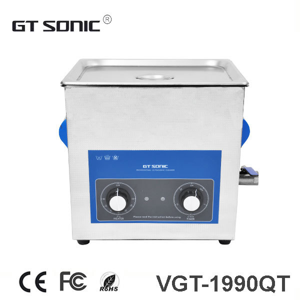 9L 40KHz Ultrasonic Cleaner Stainless Steel industrial washing machine with heating function 110V, 220V available(China (Mainland))