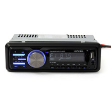 New Car Audio Stereo Player Bluetooth Phone AUX-IN MP3 FM/USB/1 Din/remote control 12V Car Radio Audio Auto(China (Mainland))