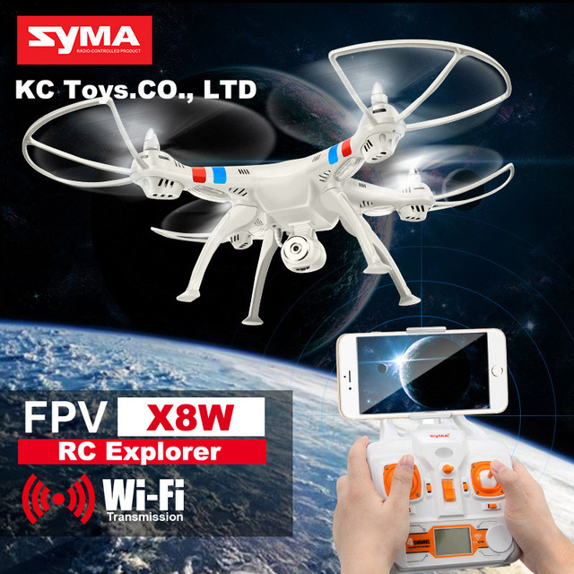 SYMA x8w &amp; x8c FPV RC helicopter drone quadcopter 6-Axis drones With 2MP WiFi Camera and 2pcs Battery and 4pcs blade As Gift<br><br>Aliexpress