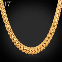 "18k vergulde ketting met echte"" k"" stempel mannen sieraden groothandel trendy nieuwe 3 kleuren 6 mm breed slang ketting n308"