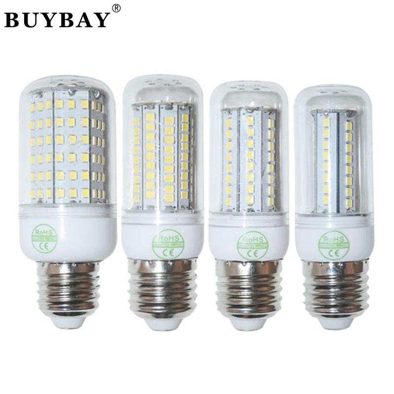 SMD 2835 E27 lamp 27LED 48LED 68LED 102LED 126LED bulb,110V/220-240V LED Corn Bulb Warm white/white light Chandelier lamp 2835<br><br>Aliexpress