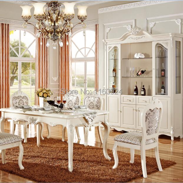 Moveis Para Sala De Jantar De Luxo ~ de luxo sala de jantar conjunto 1 mesa de jantar e cadeiras de jantar