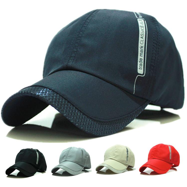 cheap Baseball cap hiphop golf sport hats snapback caps trucker hats summer hats for men new wholesale(China (Mainland))