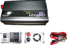 1200W Car DC 12V to AC 220V with USB port Power Inverter Charger Converter(China (Mainland))