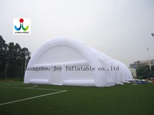 waterproof 210D oxford or PVC arched single layer inflatable tent(China (Mainland))