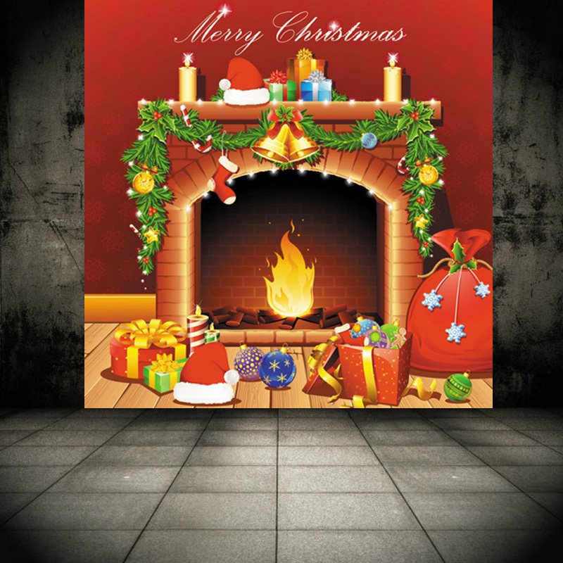 Online Buy Wholesale Christmas Ceiling Hanging Decorations: Online Buy Wholesale Fireplace Wall Murals From China
