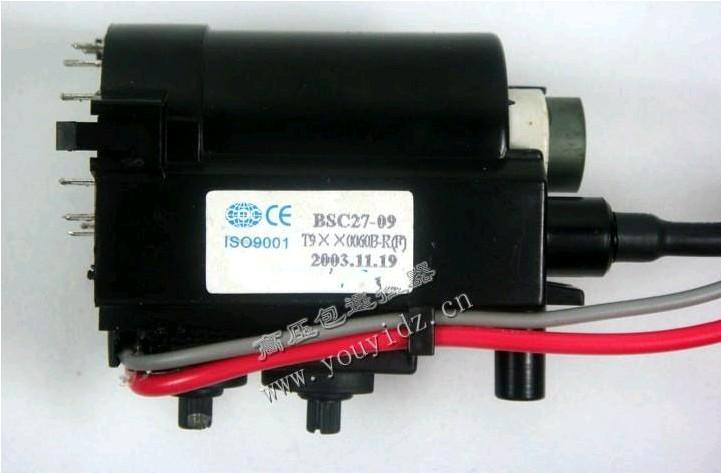 1PCS TV ignition coil BSC27-09 T9XX0060B-R (F) TV line output transformer(China (Mainland))