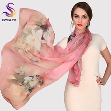 Silk Scarf Mulberry Silk Scarf Long Design Quality Female Spring And Autumn Scarf All-match Fashion Women Satin Pink Shawl(China (Mainland))