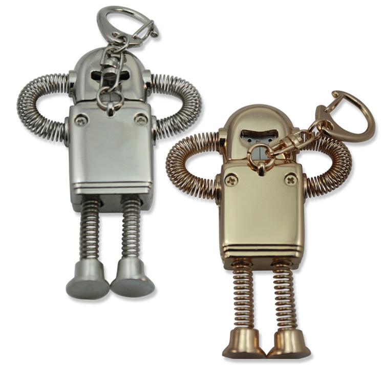 Cheap Price Creative Robot 100% Full Capacity 8GB 16GB 32GB 64GB USB 2.0 Flash Disk/Drive/Pen/Thumb/Car Free Shipping(China (Mainland))