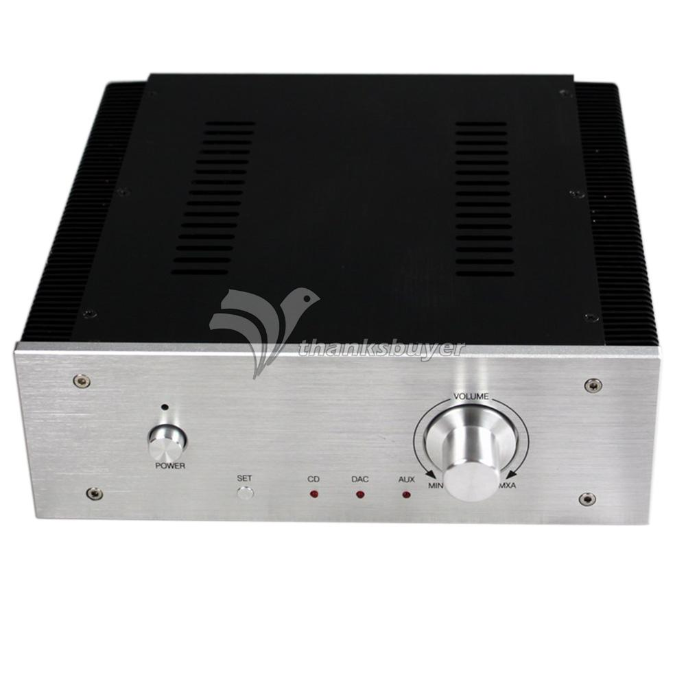 WA17 DAC Amplifier Aluminum Box Shell Case 260*270*90mm Enclosure with Fine-Toothed Sink<br><br>Aliexpress