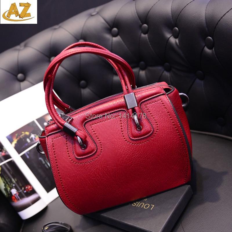 2015 new handbag fashion face Shoulder Bag Messenger portable PU bag  -  Shenzhen AZ trading Co., Ltd store