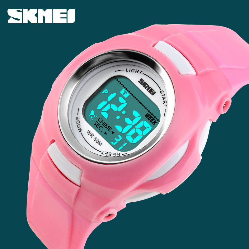 2015 Hot Sale Rain Waterproof Children Boy LED Digital Waterproof Alarm Kids Child Boy girl Sports Wrist Watch reloj mujer<br><br>Aliexpress
