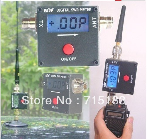REDOT 1050A 120W VHF UHF Digital SWR/Power Meter N-Female Connector Freeship SWR meter for two way radio(China (Mainland))