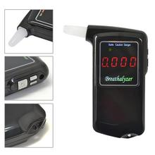 1 pieces Portable Professional Police Electronic Digital LCD screen Display breathalyzer Alcohol Tester (Hong Kong)