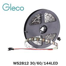 Buy DC5V WS2812 Pixel Digital LED Strip 5050 RGB 30/60/144LED WS2812B LED Pixel Strip Light IP20 IP65 IP67 Waterproof for $17.99 in AliExpress store