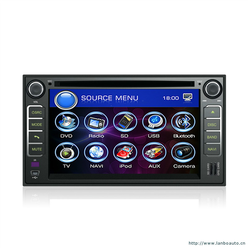 Support usb sd with gps blue tooth fm am radio hd touch screen windows ce 6 0 special hyundai