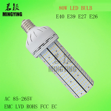 Buy Mingying Lighting 2017 New 80w Led Corn Light Street Light E40 80w Bulb Super Bright 2835 85-265v Ce Rohs Lvd Emc Fcc for $899.00 in AliExpress store