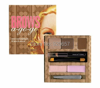 1PC Makeup Set High brand Quality BROWS a-go-go brow & eye shaping kit Makeup cosmetics Free shipping