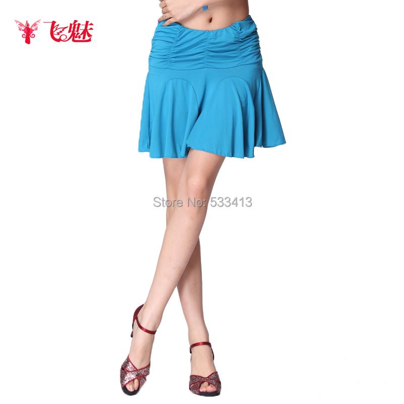 latina in short skirt