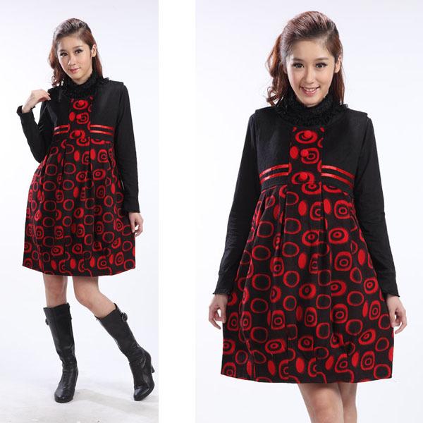 Беременные платья для зимы